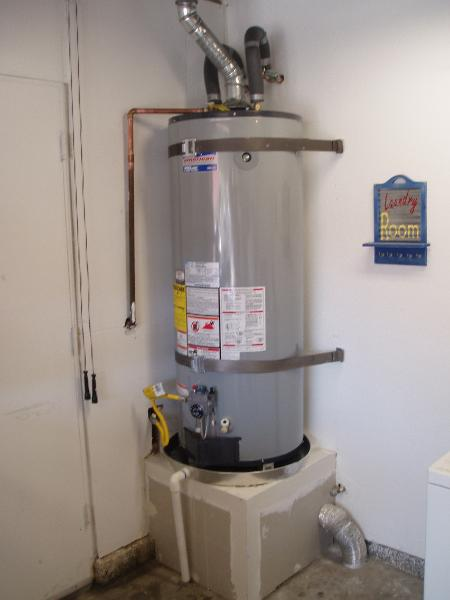Water Heater Install Photos